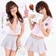 コスプレ 学生服*ミニスカートの制服コスプレ 6061 - 縮小画像1