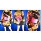 コスプレ 3色★豪華着物コスプレ/浴衣/和物 白 - 縮小画像1