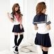 コスプレ 【学生服】青スカートのコスプレ*女子制服・コスチューム 6047 - 縮小画像1
