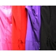 キャバ ドレス レーススリット入りウエストベルト付 シャツ風ドレス パープル - 縮小画像3