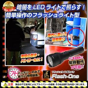 【小型カメラ】フラッシュライト型カメラ(匠ブランド)『Flash-One』(フラッシュワン) f06