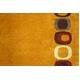 モダン アクセントラグ コルト 140×200 オレンジ - 縮小画像4