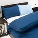 15色から選べる ピロケース(枕カバー) 53×73cm モダンブラック 綿100% 日本製