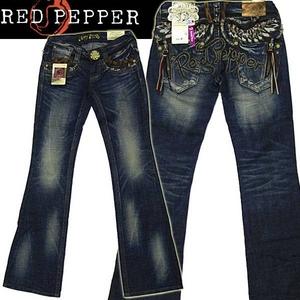 red pepper(レッドペッパー) レディース・デニム #5375 26 - 拡大画像