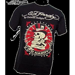 ed hardy(エドハーディー) メンズTシャツ 2 BSC SS OLD BRAD BLACK S - 拡大画像