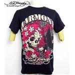 ed hardy(エドハーディー) メンズTシャツ BEAUTIFUL GHOST ブラック S