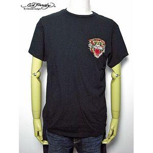 ed hardy(エドハーディー) メンズTシャツ ベーシック Tiger Black L - 拡大画像