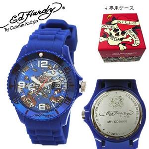 ed hardy(エドハーディー) 腕時計 メンズ/レディース【MH-CD0600】ブルー - 拡大画像