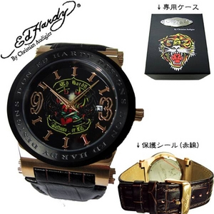 ed hardy(エドハーディー) 腕時計 メンズ/レディース【AD-RG0088】 - 拡大画像