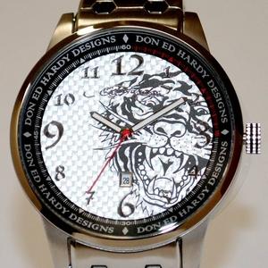 サファリ11月号掲載!エドハーディー腕時計【ED HARDY】Ed Hardy Watch MIDNIGHTシリーズ【MD-SR】 - 拡大画像