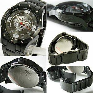 エドハーディー エド・ハーディー 時計 Ed Hardy 腕時計 Tiger タイガー 「BR-BK」 【ED HARDY】 - 拡大画像