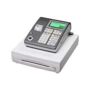 カシオ レジスター TE-300 シルバー【PC接続ケーブルパターンBセット】 - 拡大画像