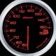 Defi-Link Meter ADVANCE BF (デフィー リンクメーター アドバンスBF) 油温計 60φ アンバーレッドモデル - 縮小画像1