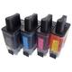 【ブラザー工業(BROTHER)対応】LC09 BK/C/M/Y 互換インクカートリッジ 4色セット 【2セット】 - 縮小画像2