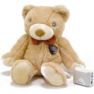 Teddycam 赤外線暗視高感度集音機能付カメラ&ワイヤレスレシーバーシステム Teddycam 1 - 拡大画像