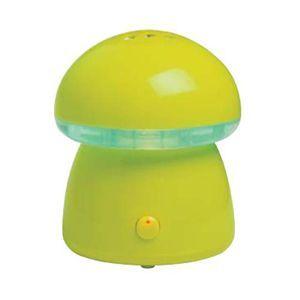 アピックス スチーム式アロマ加湿器 Mushroom AHD-020 イエローグリーン - 拡大画像