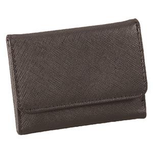 マルチに使える♪スマート手のひら財布(ブラック) - 拡大画像