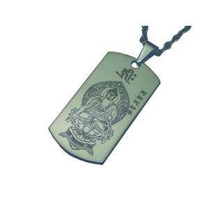 八尊仏チタンペンダント(戌) - 拡大画像