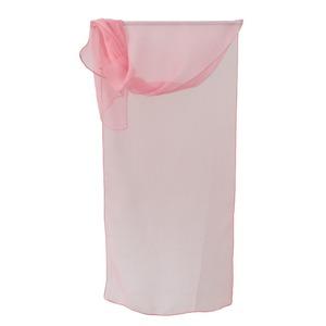 お洒落de涼しげな ファッションシルクストール ピンク - 拡大画像