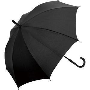ゲリラ豪雨・強風対策!簡単に元に戻せるマジカルアンブレラ ブラック - 拡大画像