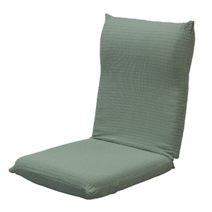 撥水加工のびのび座椅子カバー グリーン - 拡大画像