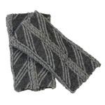 保温・保湿素材使用!シルクのびのび手首ウォーマー ブラック