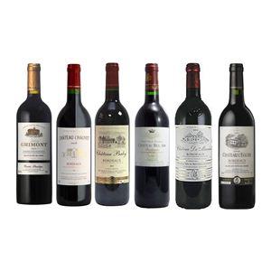 フランスワイン ボルドー プチ・シャトー お買い得6本セット(750ml×6種類) - 拡大画像