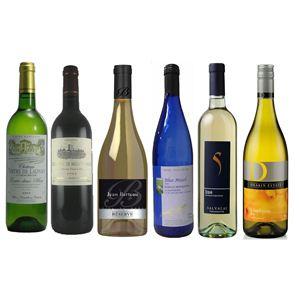 ワールドワイン 白ワイン 厳選6本セット(750ml×6種類) - 拡大画像