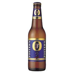 フォスターズ ラガー 瓶 (輸入ビール) 355ml×24本入り - 拡大画像