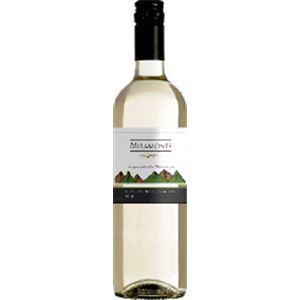 チリ産 白ワイン ミラモンテ 750ml (12本入) - 拡大画像