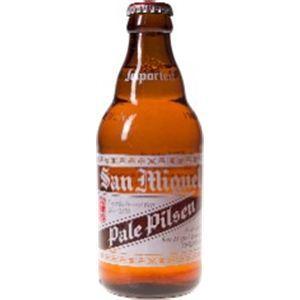 フィリピン産ビール サンミゲール スタイニー 瓶 320ml×24本 - 拡大画像