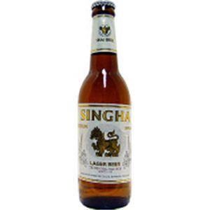 タイ産ビール シンハー 瓶 330ml×24本 - 拡大画像