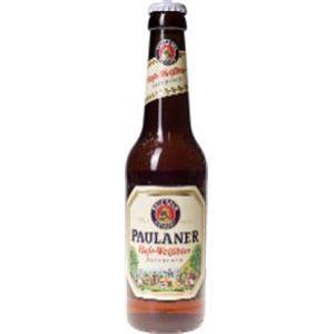 ドイツ産ビール パウラーナー ヘフェ ヴァイスビア 瓶 330ml×24本 - 拡大画像
