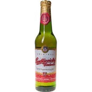 チェコ産ビール バドバー 瓶 330ml×24本 - 拡大画像