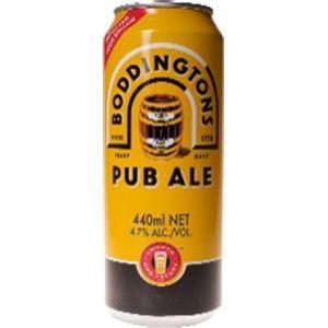 イギリス産ビール ボディントン 缶 440ml×24本 - 拡大画像
