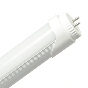 高輝度 直管形LED蛍光灯 20W形(580mm) 1100ルーメン 6000K(昼光色) 2年保証 国産パーツ グロー式工事不要 角度調整機能 PL保険 - 拡大画像