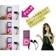 【電丸】2.2インチ薄型充電式 MP3/MP4/WMVプレーヤー 4GB typeD ピンク (第5世代カメラ付) - 縮小画像5