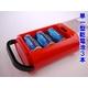【電丸】【単一型乾電池付き】防災LEDランタン明るい20灯(JL-5288) 【レッド】 - 縮小画像3
