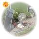 【電丸】15Wソーラー発電システムバッテリー/150Wインバーターセット【NK-PS15DX】 太陽光発電でECO【Sograndpower Series】 - 縮小画像6