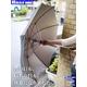 【電丸】UVカット扇風機傘クーリングアンブレラ涼しい風(日傘/雨傘兼用)★TVで紹介 - 縮小画像4