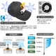 電池で冷える帽子クールスマイルCS101(カラーブラック) CoolSmile(R) - 縮小画像5