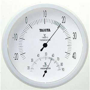 タニタ温湿度計 TT492 ホワイト - 拡大画像