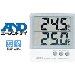 温度計 (園芸用) AD-5648 - 拡大画像
