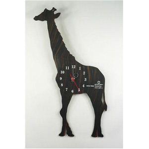 SHADOW W(掛け時計) YK10-104 キリン  - 拡大画像