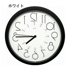 逆転時計 QL886ホワイト  - 拡大画像
