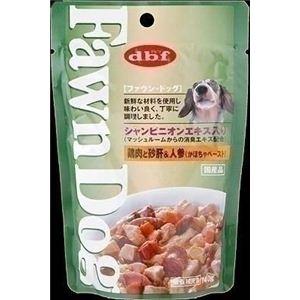 112040 デビフ ドッグフード Fawn Dog 鶏肉と砂肝&人参(かぼちゃペースト) 140g×48袋 - 拡大画像