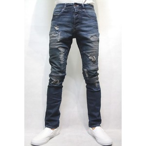 VADEL tight&easy denim trousers INDIGO サイズ44 - 拡大画像