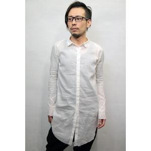 lien ワンピースアームロングシャツ WHITE サイズ46 - 拡大画像