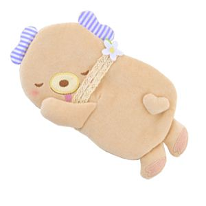 ふんわりCool Heartful Bear(ハートフル ベアー) ひんやり抱きまくら - 拡大画像