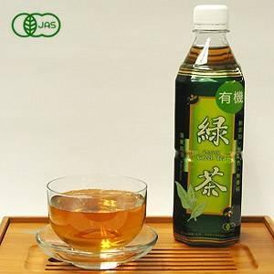 海東ブラザース 緑茶 有機JAS認定商品 無添加・無着色・無香料 【500ml×24本】 - 拡大画像